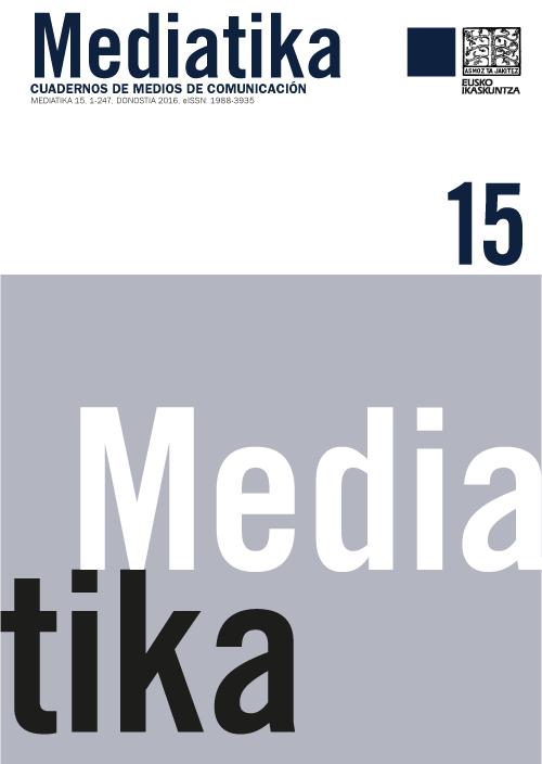 MEDIATIKA 15 - CUADERNOS DE MEDIOS DE COMUNICACIÓN